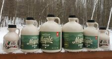 Pure Vermont Maple Syrup-1/2 Gallon-Grade A- Amber-Robust-Award Winning