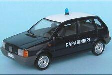 FIAT UNO 1985 CARABINIERI DEAGOSTINI 1/43 ITALY BERLINA BERLINE POLIZIA