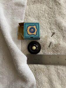 Eagle Bakelite Round Push Button in original box