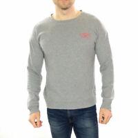 Men's Vans Big Logo Sweatshirt In grey  Size Medium