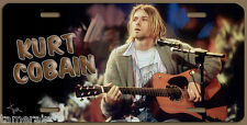 KURT COBAIN ART LICENSE PLATE, Painted and Made in USA by the Artist