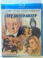 Les Miserables (Blu-ray Disc, 2013)(NEW) French w/ English subtitles
