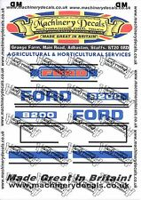 FORD 8200 DECALS BONNET