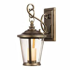Home Decorators Bellingham LED Small Outdoor Wall Mount with Clear Glass