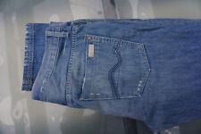 Pour Tous 7 Mankind Jared Hommes Pantalon Jeans 36/34 W36 L34 Bleu Usé Look W3