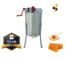 3 Frame Honey Extractor Manual Langstroth - Tangential Stainless Steel Spinner