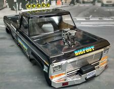 Custom Painted Body BIGFOOT Classic For 1/10 RC Monster Truck Traxxas Stampede
