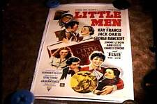 LITTLE MEN ORIG MOVIE POSTER LINEN 1940 KAY FRANCIS GEORGE BANCROFT