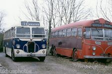 Brutonian OVL495 & MMR552 Bruton 26th December 1978 Bus Photo