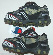 3ebf0aa59 TODDLER BOYS SHOES Camouflage RACER Athletic CHAMPION Size 5