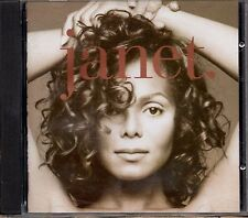JANET JACKSON CD Janet 27 TRACCE feat MICHAEL 1993 Made in ITALY Virgin