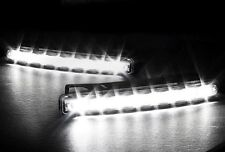 2 FEUX DE JOUR 8 LED BLANC XENON AUDI A1 A2 A3 S3 A4 S4 A5 S5 A6 S6 RS4 A8 TT