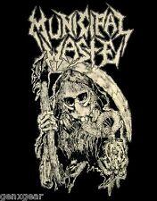 MUNICIPAL WASTE cd lgo UNHOLY ABDUCTOR Official SHIRT XXL 2X New fatal feast