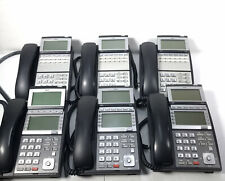 Lot Of 6 NEC Office Telephone Phone DLV(XD)Z-Y(BK) Black