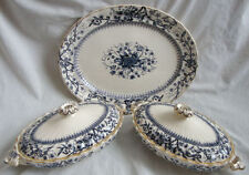 Blue & White Transfer Ware Tableware Date-Lined Ceramics