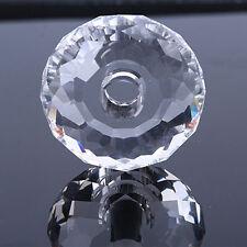 Tischlampe Kronleuchter Verzierung 40mm Transparent Facettiert Prisma Glas Kugel