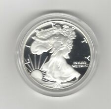 USA: American Eagle One Ounce Silver Proof Coin 1991, Silber