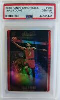 2018-19 Panini Chronicles Studio Trae Young Rookie RC #298, PSA 10, Pop 64 !