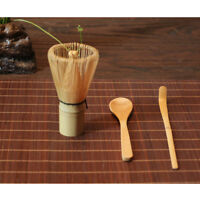 Chasen Tea Whisk Hooked Bamboo Scoop Spoon Teaspoon Kit for Preparing Matcha