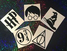 Harry Potter Vinyl Decal Stickers for Glass, Cars, Mugs, Phones,