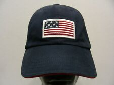 USA - AMERICANA 8 STAR FLAG - ONE SIZE ADJUSTABLE STRAPBACK BALL CAP HAT!