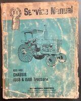 IH Blue Ribbon Service GSS-1461 1566 & 1568 Tractors Chassis. Paper Original