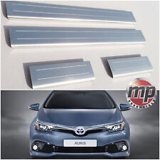 Lockwood Toyota Auris 2013> Stainless Steel Kick Plate Car Door Sill Protectors