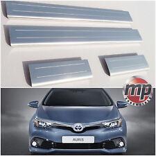 Lockwood Toyota Auris 2013  Stainless Steel Kick Plate Car Door Sill Protectors