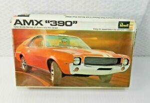 Revell 1969 AMX 390 Unbuilt Plastic Car Model NOS