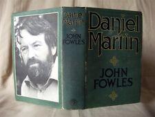 DANIEL MARTIN; John Fowles; 1st Edition, 1977; Jonathan Cape, H/B in D/W