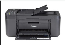 New Black Canon PIXMA TR4522 Wireless All-in-One Inkjet Office Printer with Ink