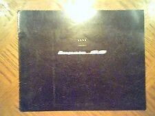 1995  Chevrolet   Impala   S/S  Original   Sales  Brochure