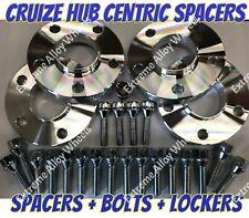 Alloy Wheel Spacers 25mm x 4 Bmw X3 X4 F25 F26 M14X1.25 + Lockers S Cruize