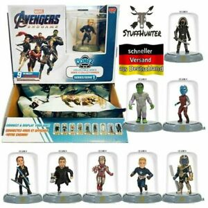 Marvel Avengers Endgame Domez Figuren Blind Bag Serie 1 Verkaufsdisplay 18Stück