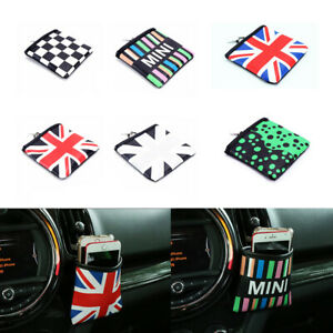 Auto Car Air Vent Outlet Pocket Storage Pouch Organizer Bag For All Mini Cooper