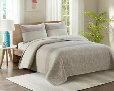 5 Piece Bedspread Throw Comforter & 4 Pillowcases King Superking Size Quilt YJ12