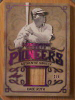 2019 LEAF ULTIMATE SPORTS BABE RUTH AUTHENTIC BAT RELIC **2 of 4**