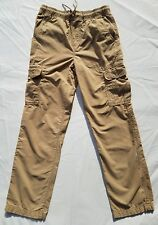 Urban Pipeline Boys Pants Size Medium Cargo Kahki Beige
