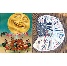 Playing Cards (Poker Deck 54 Cards) HALLOWEEN Vintage Card FlonzGift 013