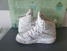 NIKE AIR JORDAN FLIGHT 45  TRIPLE WHITE UK 3.5