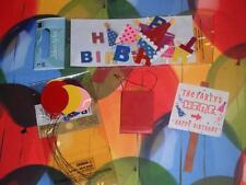 Birthday Streamer Balloons Sign fits Fisher Price Loving Family Dollhouse Dolls
