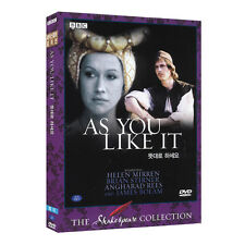 As You Like It (1978) BBC Shakespeare DVD - Basil Coleman (*New *All Region)