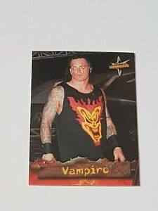 WCW - Vampiro - Topps 1999 WCW Embossed Trading Card