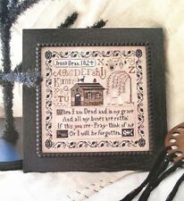 Jenny Bean's Halloween Sampler Shakespeare's Peddler Cross Stitch Pattern