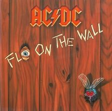 AC/DC Fly On The Wall Vinyl Record LP German Atlantic 781 263-1 1985 EX Original