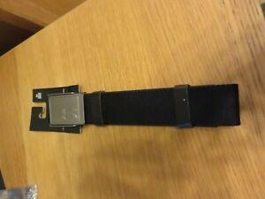 UNDER ARMOUR Men's Reversible Canvas Belt - OSFA - Black/Grey - NEW