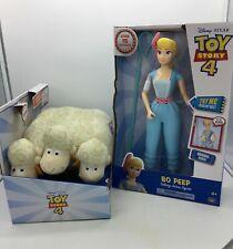 Disney Pixar Toy Story 4 Bo Peep & Sheep Billy Goat Gruff With Sound Effects