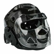 NEW! Century Full-Face Headgear with Face Shield Karate TKD MMA - Black - Small
