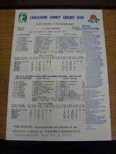 13/07/1992 Cricket Scorecard: Lancashire v Leicestershire  [At Southport] (resul