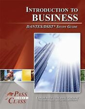 Introduction to Business DANTES/DSST Test Study Guide - PassYourClass used